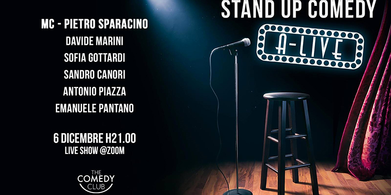 Stand Up Comedy A-LIVE Show