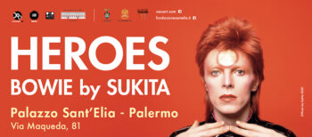 Mostra Heroes - Bowie by Sukita a Palermo